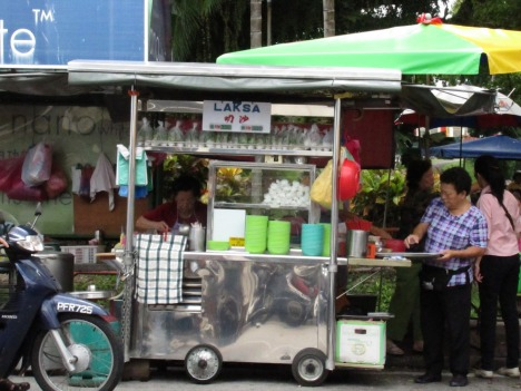 hawkers stall