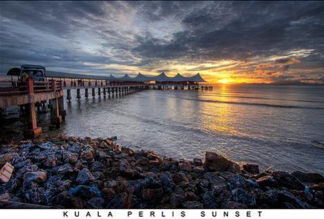 kuala perlis sunset