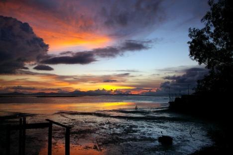 sunset at kuala perlis1