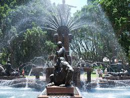 sydney fountain